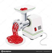 equipement electrique cuisine hachoir à viande électrique avec la viande hachée équipement de