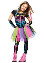 skeleton costumes girl s skeleton costumes for kids for sale funtober