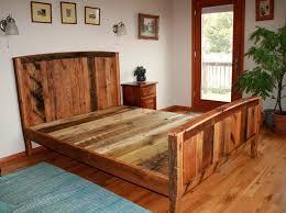 beds rustic wood bedside cabinet wooden bed frames australia