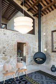Old Homes With Modern Interiors Modern Design In An Old Stone Farmhouse In Spain Pufik