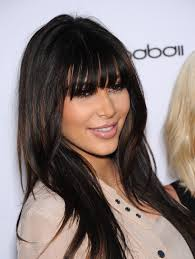 22 stylish celebrity hairstyles with bangs more com