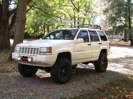 lifted jeep grand cherokee awesome white 1998 5 9 grand cherokee with iro 5 5