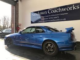 nissan skyline for sale uk sandown coachworks sandownbodyshop twitter