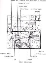 Time Zone Map South Dakota by Maps Books Mineral Specimens And Products
