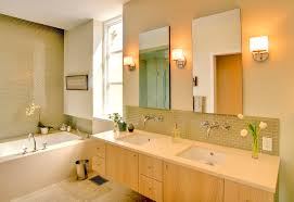 bathroom awesome wall lamp beside simple mirror model above