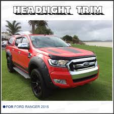 ford ranger 2015 aliexpress com buy head light cover bezel trim decals for ford