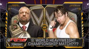 video entertainment analysis group low wwe 2k15 sales expected wwe raw triple h vs dean ambrose wwe world heavyweight
