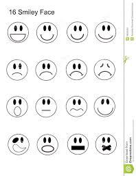 16 smiley face icon set stock photo image 39092543