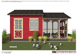 Yard Barn Plans by Home Garden Plans Cb202 Combo Chicken Coop Garden Shed Plans