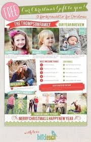 christmas family newsletter templates free 2017 business plan