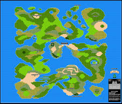 Labeled Map Of The World by Dragon Warrior Iii Map Selection Labeled Maps