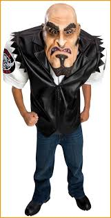 Scary Teen Halloween Costumes Giant Scary Biker Dude Costumes Teens Halloweencostumes4u
