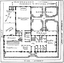 floor plan of cafeteria historic evansville tag ywca