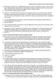 Parts Of Business Letter by Complaint Letter Activities Worksheet Free Esl Printable