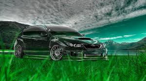 Subaru Impreza Wrx Sti Jdm Crystal Nature Car 2014 El Tony