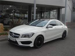 mercedes cla45 amg for sale mercedes 45 amg 7g dct white with 61500km for sale