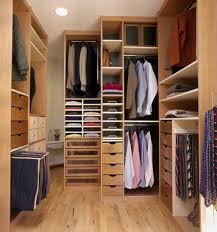 furniture cool image of small wooden walk in closet decoration