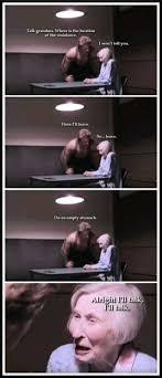 Grandma Meme - dopl3r com memes talk grandma where is the location of the