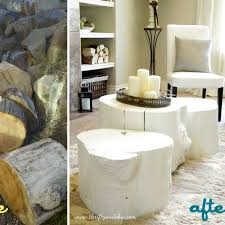 How To Make End Tables Out Of Tree Stumps by 98 Best Things To Do With My Tree Stump Images On Pinterest Diy