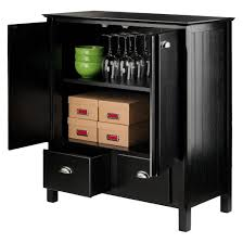 Timber Filing Cabinets Timber Cabinet With Drawers Black Winsome Target