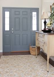 Colored Interior Doors Second Home How To Nest For Less