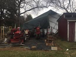 tractor house destroyed farmall cub
