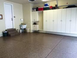 Laminate Flooring In Garage 3 Car Garage Platinum Granite Epoxy Coating