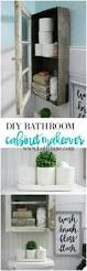Diy Bathroom Cabinet Diy Bathroom Cabinet