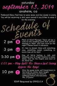 best bachelorette party invitations shea u0027s baseball themed bachelorette bash chic runner