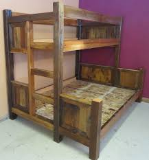 Barnwood Bunk Beds Barnwood Bunk Beds Barn Wood Furniture Rustic Barnwood And Log