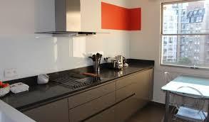 cuisine noir laqué plan de travail bois plan de travail noir laqu beautiful beau cuisine brico depot