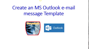 create email message templates in microsoft outlook youtube