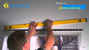 pvc strip curtains hook on track installation guide youtube