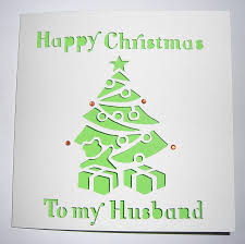christmas tree card christmas lights decoration