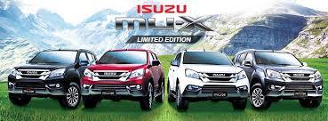 isuzu mu x limited edition comes to philippines