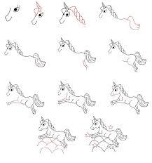 19 best horses unicorns images on pinterest drawing drawing