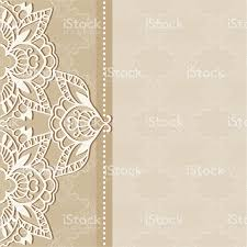 Wedding Invitation Cards Designs Abstract Background Lacy Frame Border Pattern Wedding Invitation