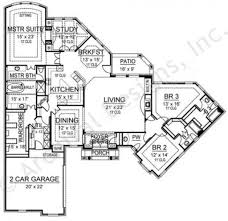 1950s Ranch House Plans Kensington Ii Retirement House Plan Ranch Floor Plan