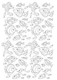 98 coloring pages beach fish sealife fish coastal