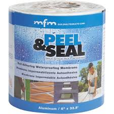 peel and seal peel seal aluminum roll roofing walmart