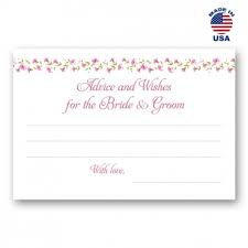 Advice To The Bride Cards Bridal Shower Cards Postcardfair