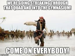 Quad Memes - jack sparrow being chased meme imgflip