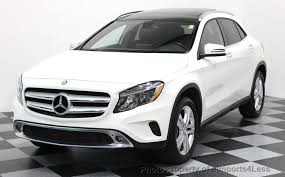 mercedes suv used 2016 used mercedes gla certified gla250 4matic awd suv