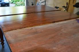 Laminate Floor Bubbling Refinish Kitchen Table Stevescape