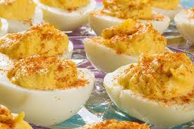 deviled egg plate target dijon deviled eggs are the easter snack or appetizer