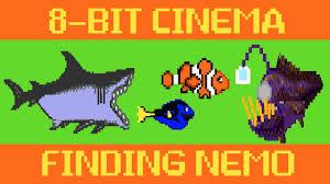 finding nemo 8 bit cinema