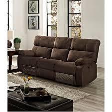 canapé relax 3 places tissu versailles canapé droit de relaxation 3 places 206x90x103 cm