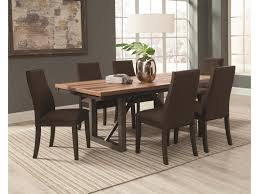 Side Table For Dining Room by Coaster Spring Creek 7 Piece Table And Side Chairs Set Dunk