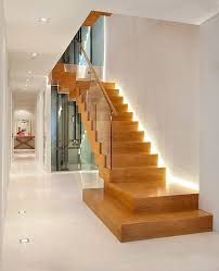 lighting ideas for staircase staircase contemporary with wooden