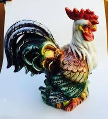240 best rooster u0026 hen figurines images on pinterest roosters